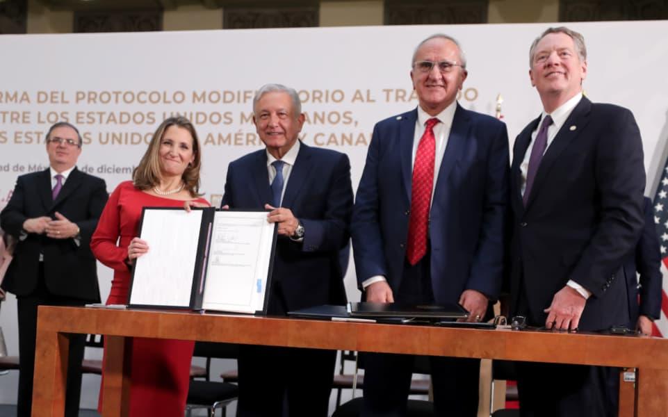 Protocolo T-MEC (Foto: Presidencia)