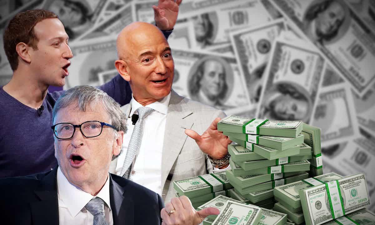 Fortuna de los CEO techies
