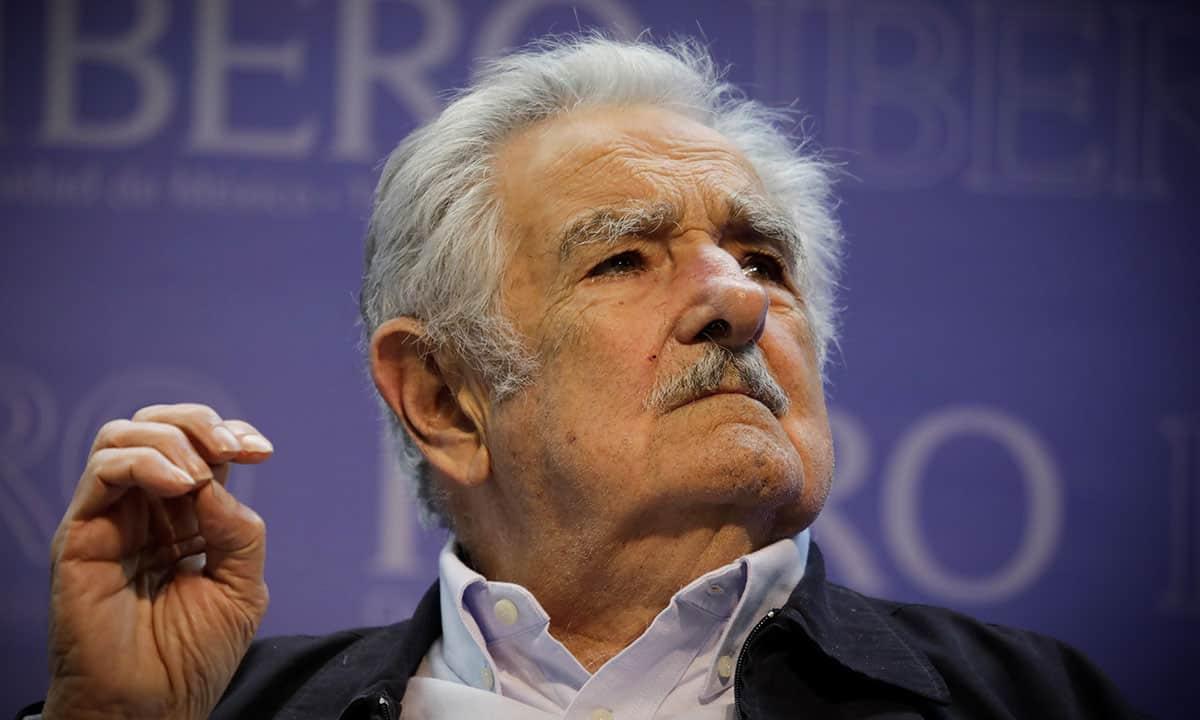 José Mujica en la Ibero (Foto: Reuters)