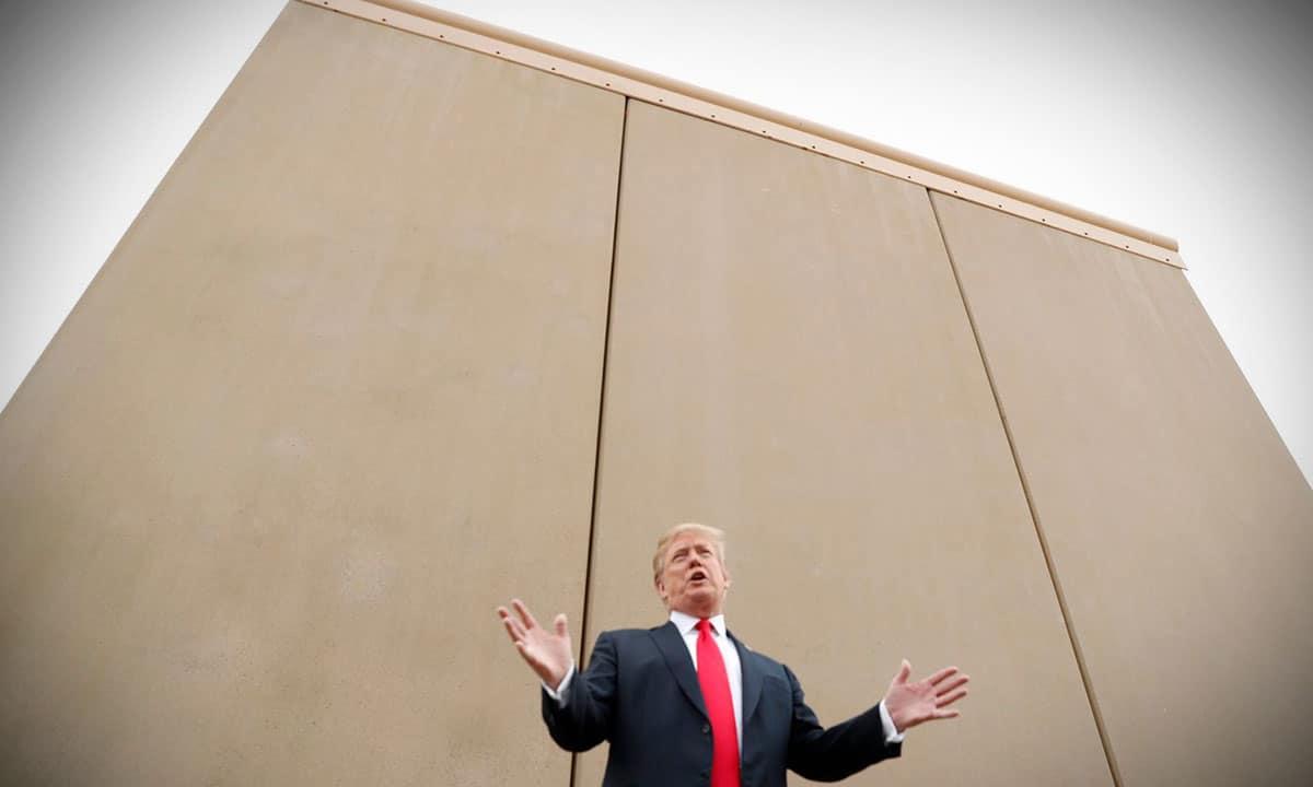 muro fronterizo Trump