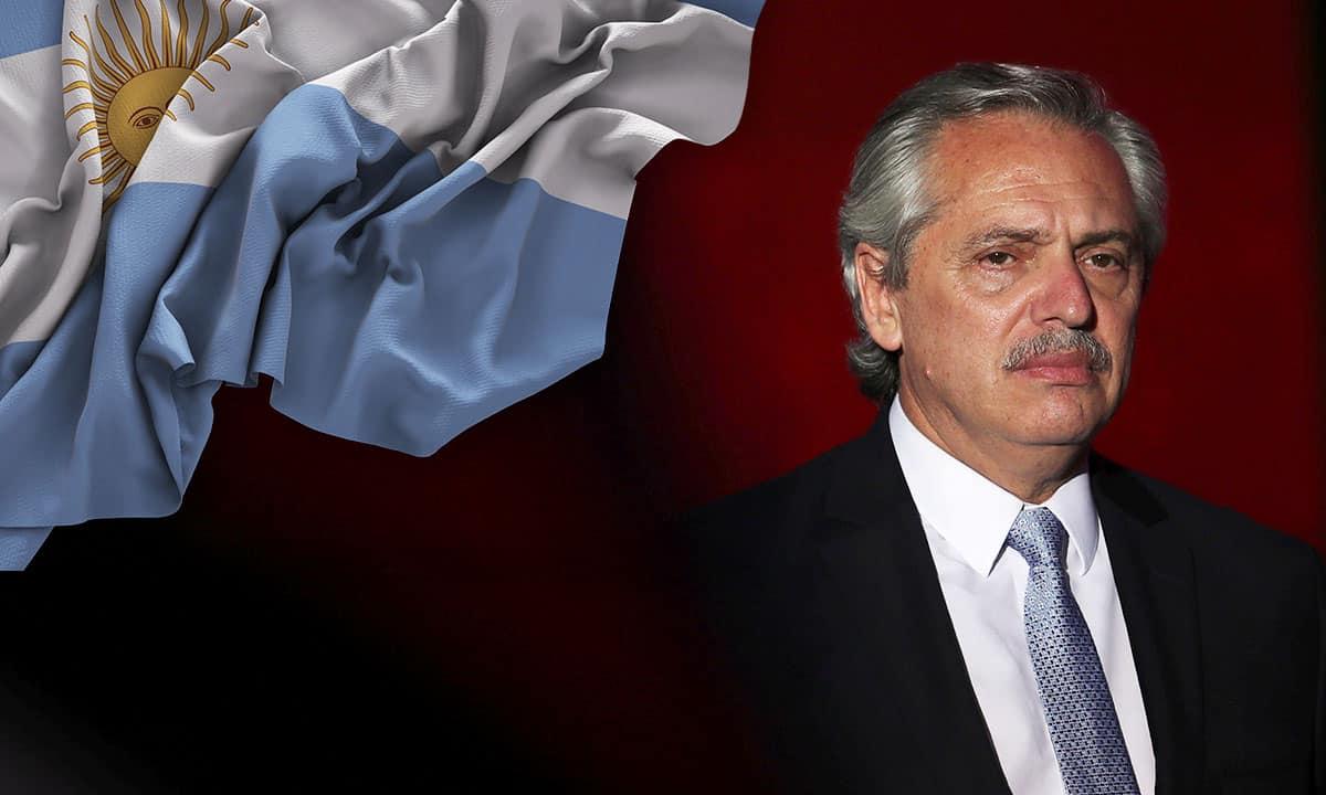 Alberto Fernández, presidente de Argentina (Reuters)