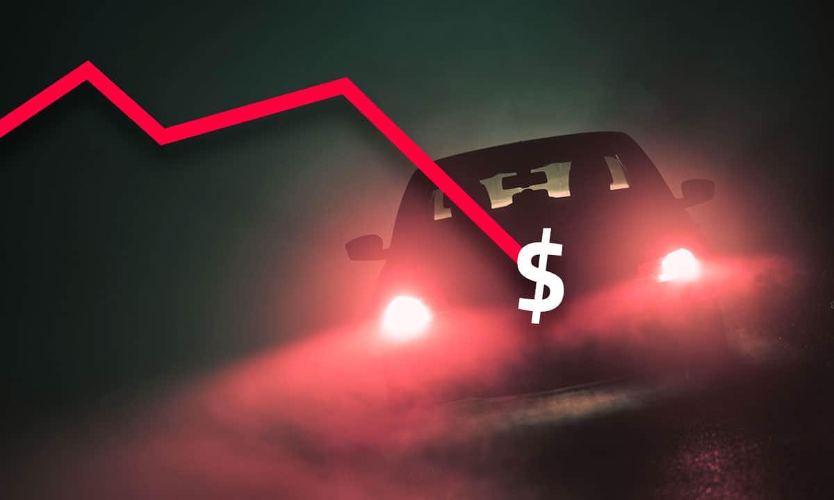 caída en venta de autos