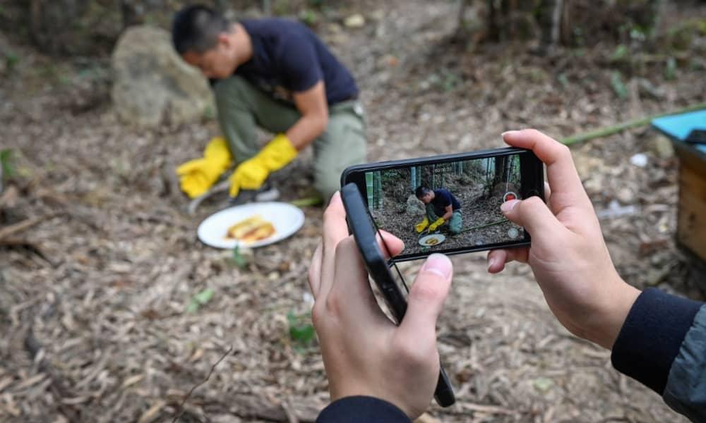 Campesinos chinos encuentran fortuna en videos en línea