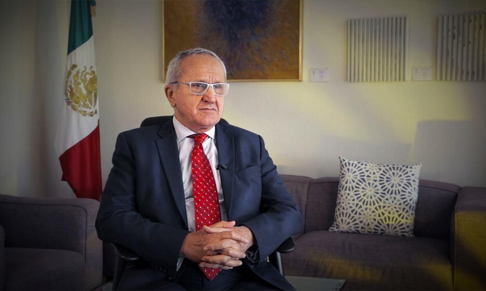 Entrevista Jesús Seade (Foto: Israel Águila)