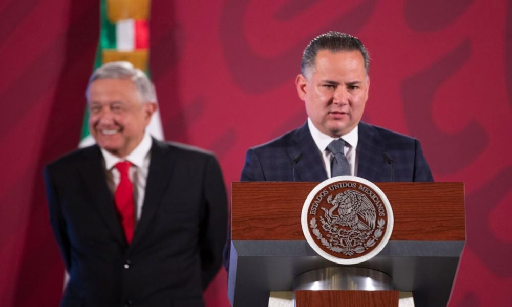 AMLO y Santiago Nieto Castillo, de la UIF
