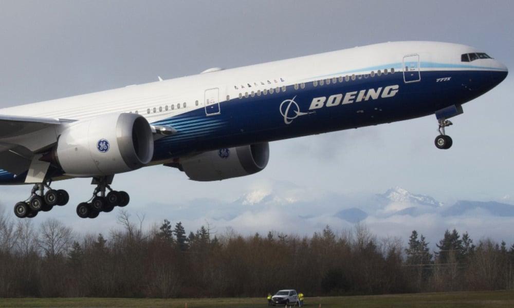 Boeing acción
