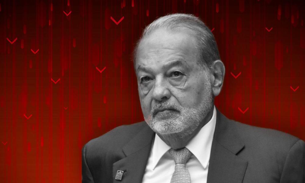 En lunes negro, Carlos Slim perdió miles de millones de dólares
