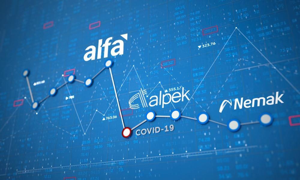 Alfa Alpek y Nemak en Bolsa