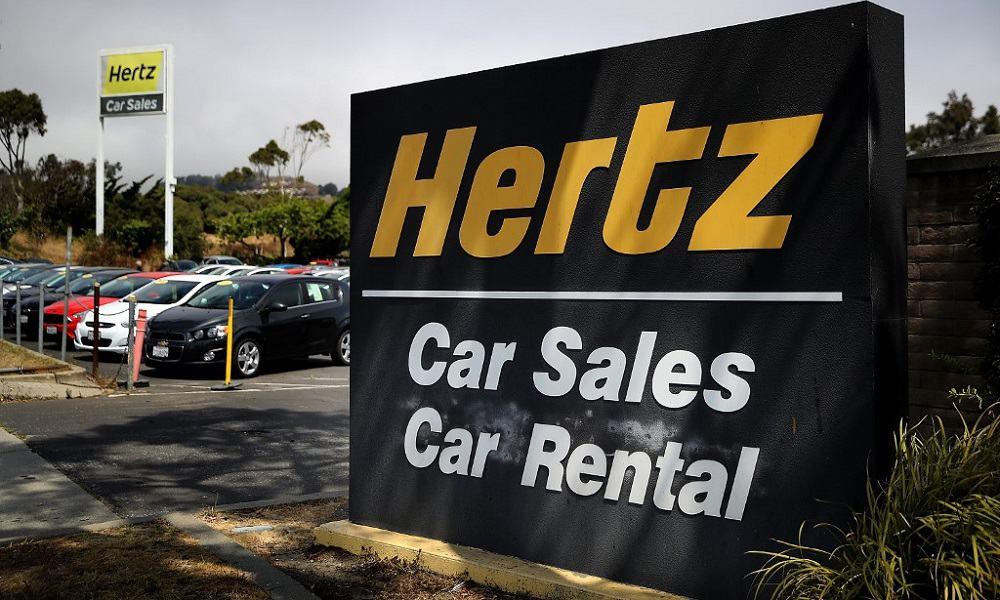 Hertz se declara en quiebra