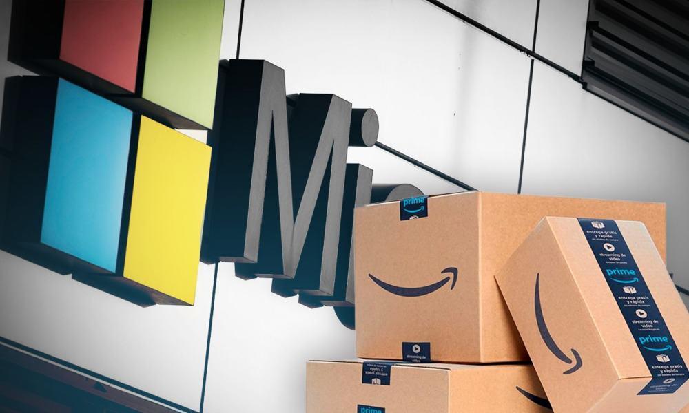 Microsoft y Amazon dan soporte al mercado accionario