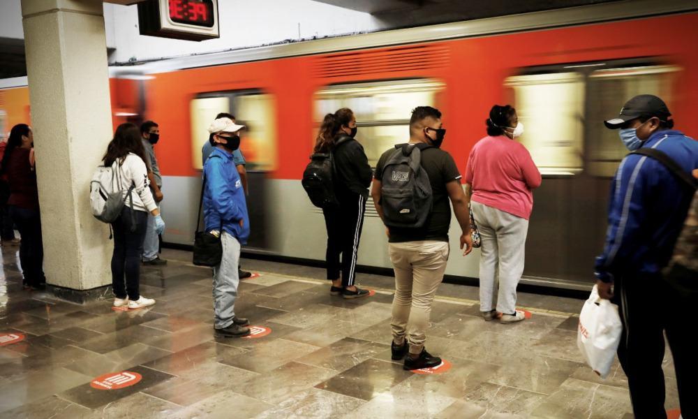 Metro de la CDMX. Foto: Reuters