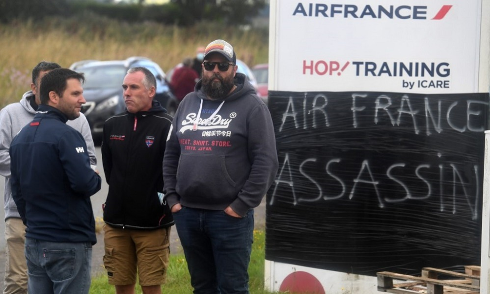 Air France despedirá a 7500 trabajadores