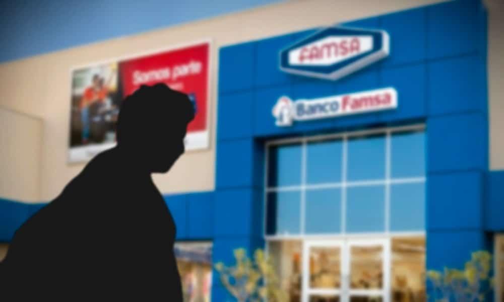 Banco Ahorro Famsa. Fotoarte: Cristian Laris