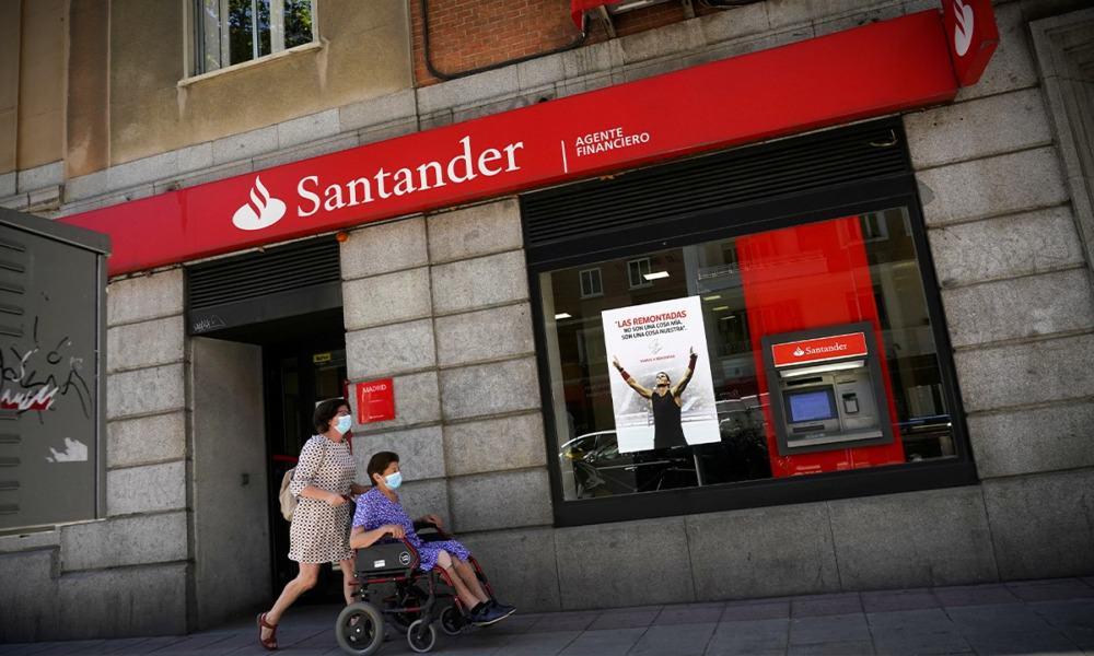 Banco Santander. Foto: Reuters