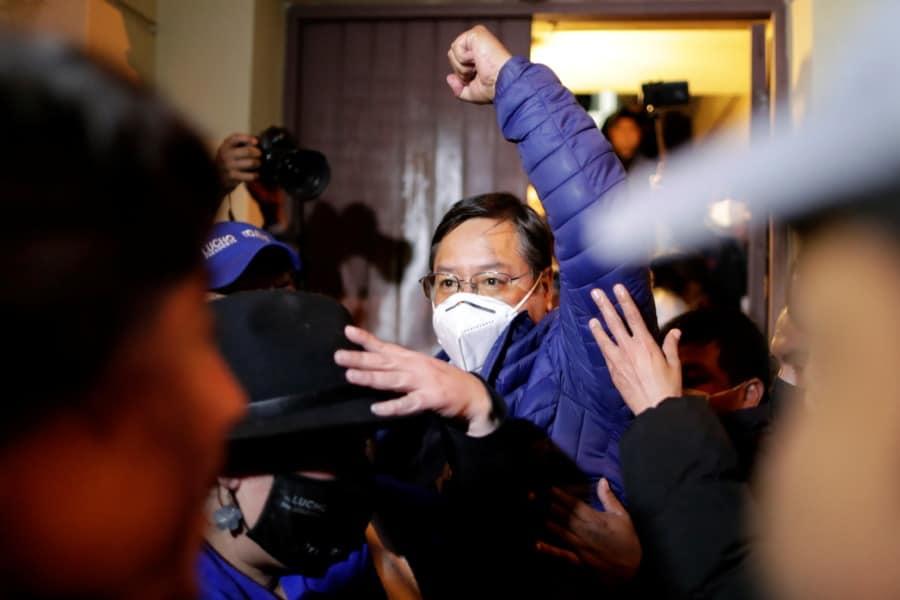 luis arce presidente electo bolivia