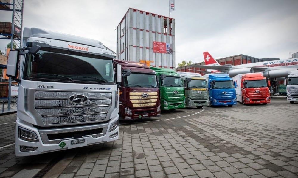 Entrega Hyundai Motor Company, primeros camiones XCIENT Fuel Cell en Europa