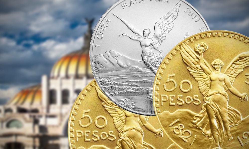 Centenarios y onzas plata
