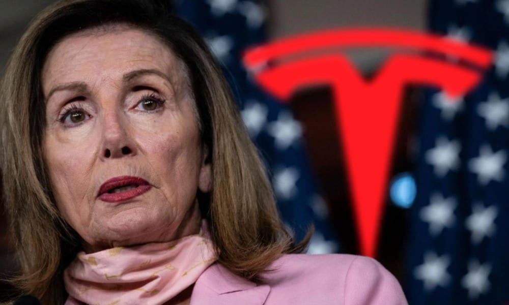 Nancy Pelosi apuesta por Tesla