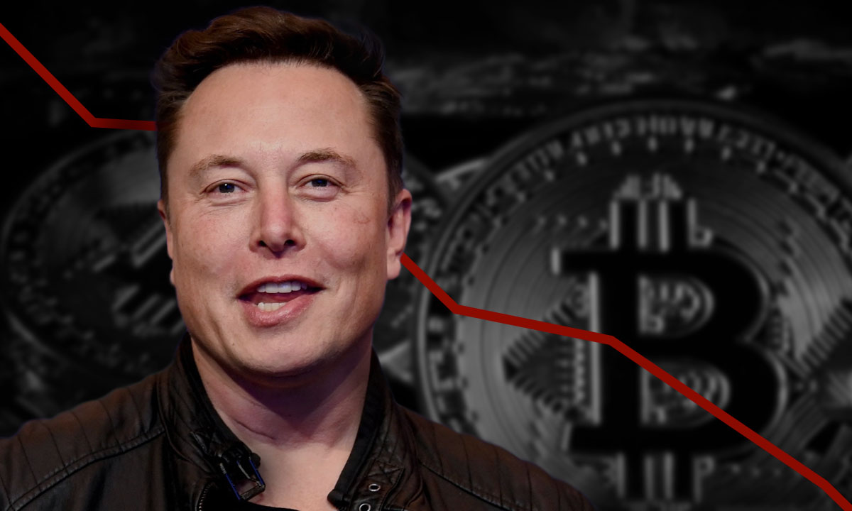 Elon Musk tuits bitcoin
