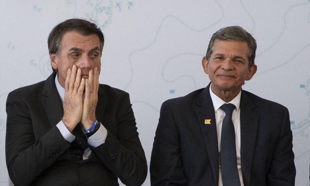 Jair Bolsonaro y Joaquim Silva e Luna