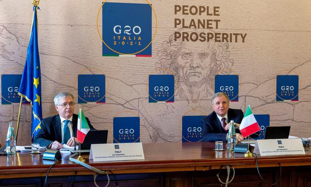Reunión virtual G20