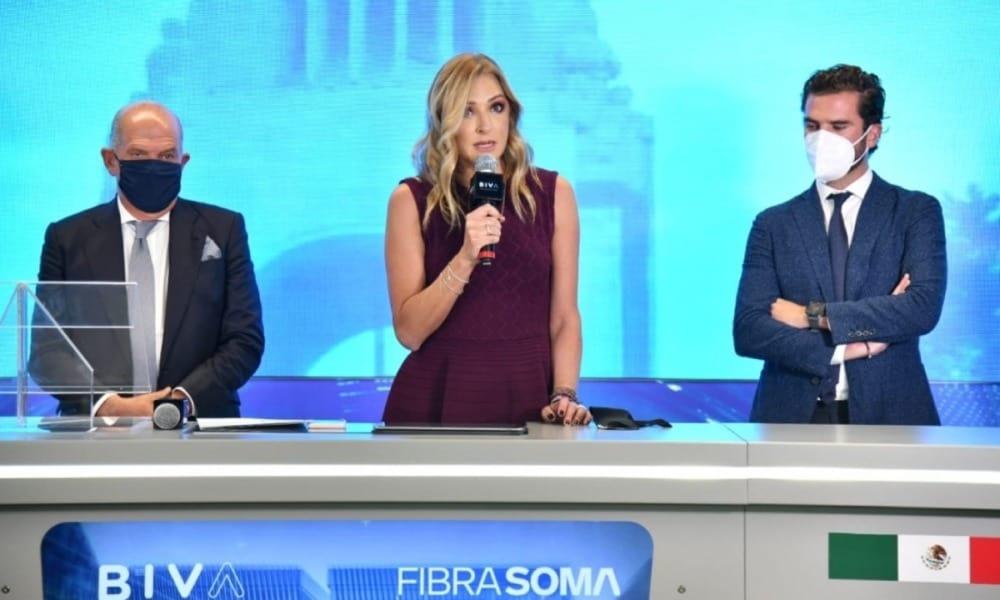 Fibra SOMA debuta en BIVA