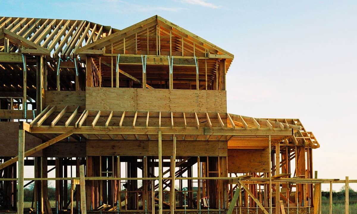 Construcción de casas en Estados Unidos