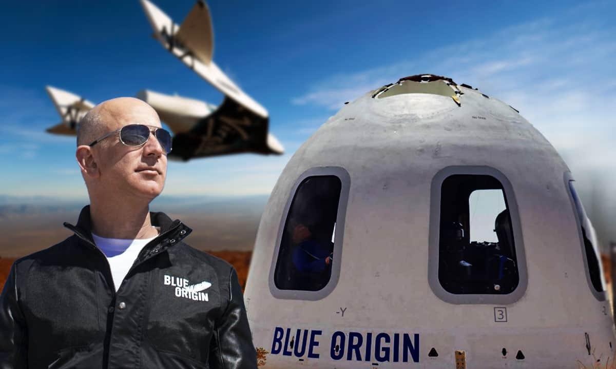 Acciones de Virgin Galactic caen tras viaje de Jeff Bezos al espacio