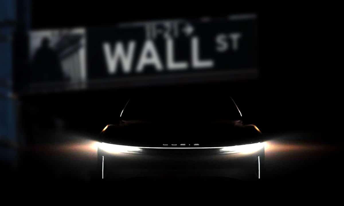 Lucid Motors debuta en Wall Street
